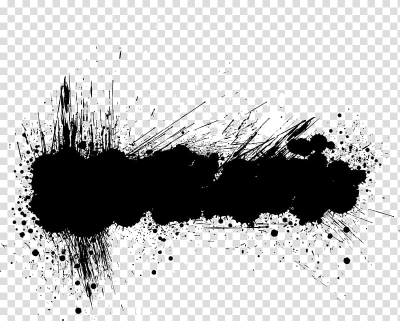 Abstract grunge clipart image royalty free library Black and white text bubble, Banner Grunge , Abstract black ink ... image royalty free library