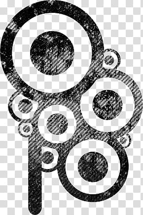 Abstract grunge clipart picture library download PS Retro Grunge brush, black and white abstract painting transparent ... picture library download