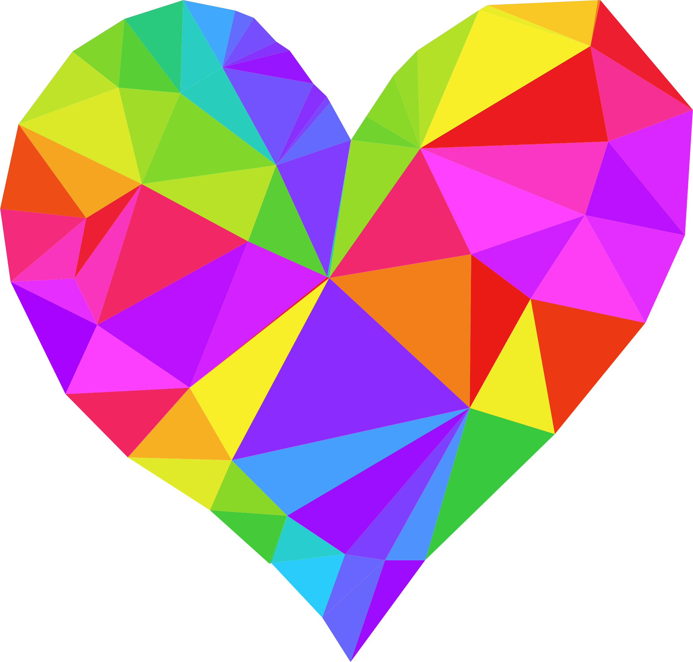 Tie dye heart clipart clip art Low Poly Heart by GDJ | VALENTINE | Pinterest | Low poly, Diy art ... clip art