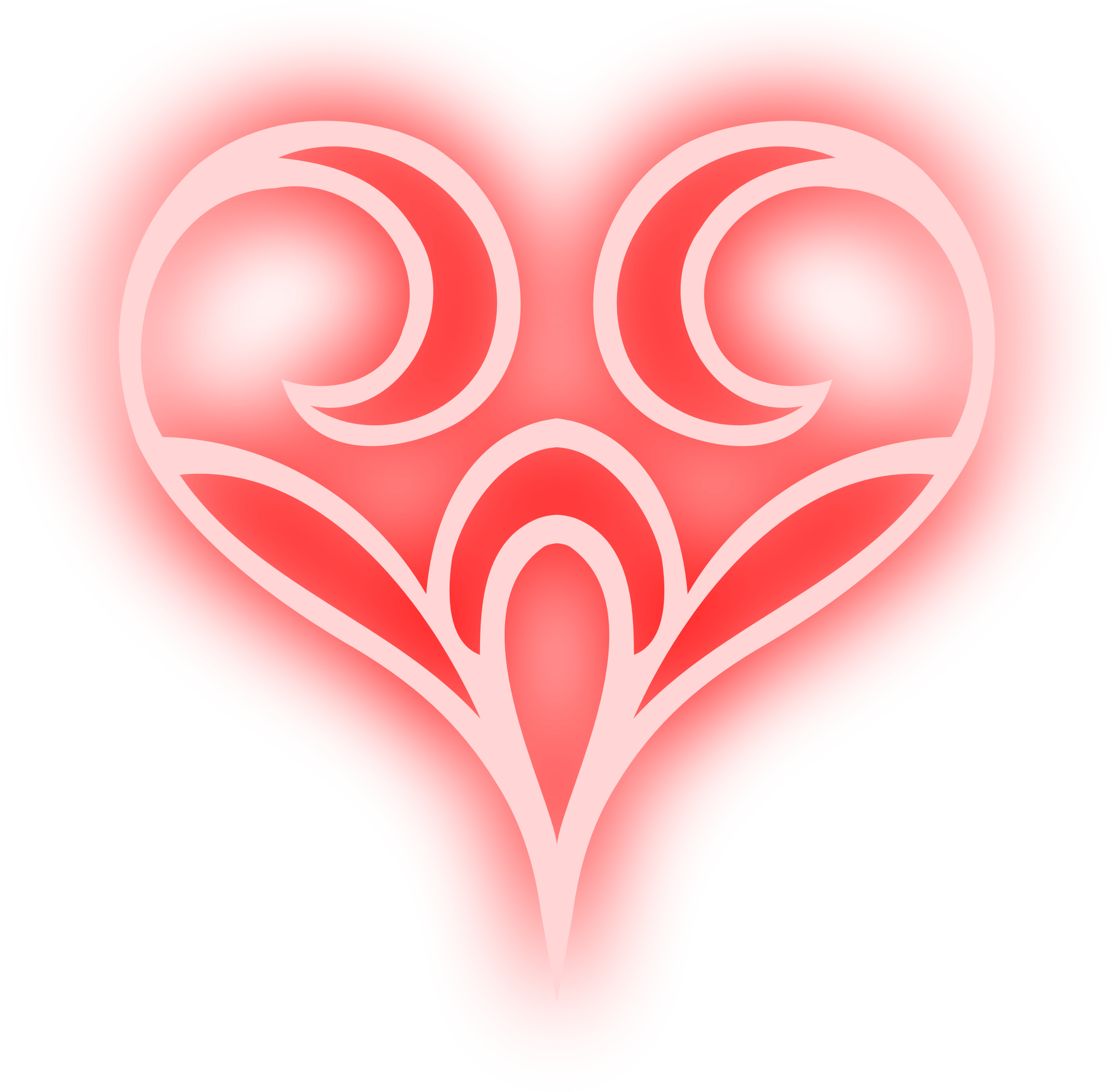 Abstract heart clipart clipart free stock Clipart - Abstract heart 4 (colour) clipart free stock