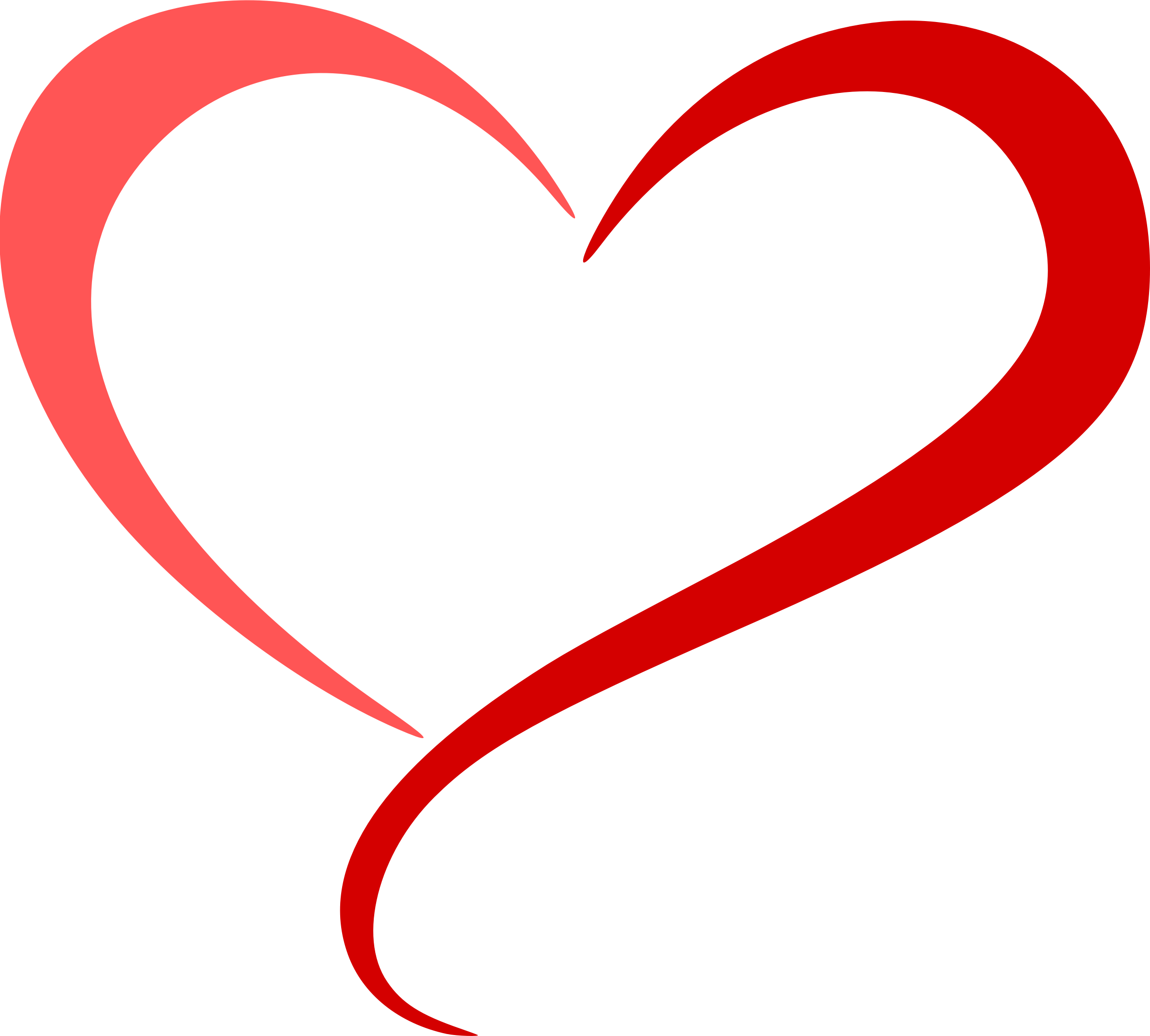 Abstract heart clipart jpg stock Clipart - Abstract heart 5 (colour) jpg stock