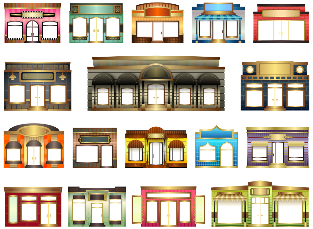 Artsy house clipart graphic transparent library Out Of Sight House Fronts Clipartist.net Clip Art Abstract Shop ... graphic transparent library