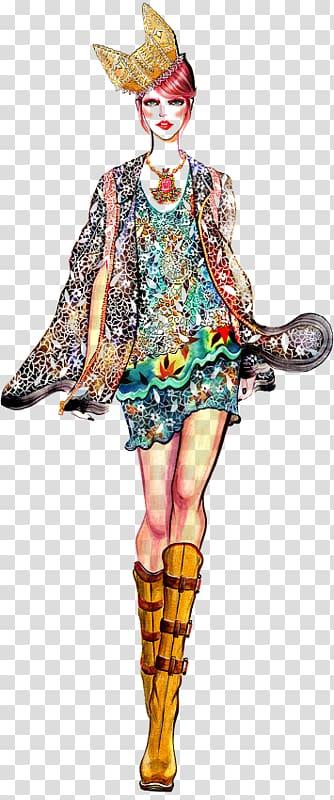 Fashion design Costume design Runway, batik modern transparent ... picture freeuse stock