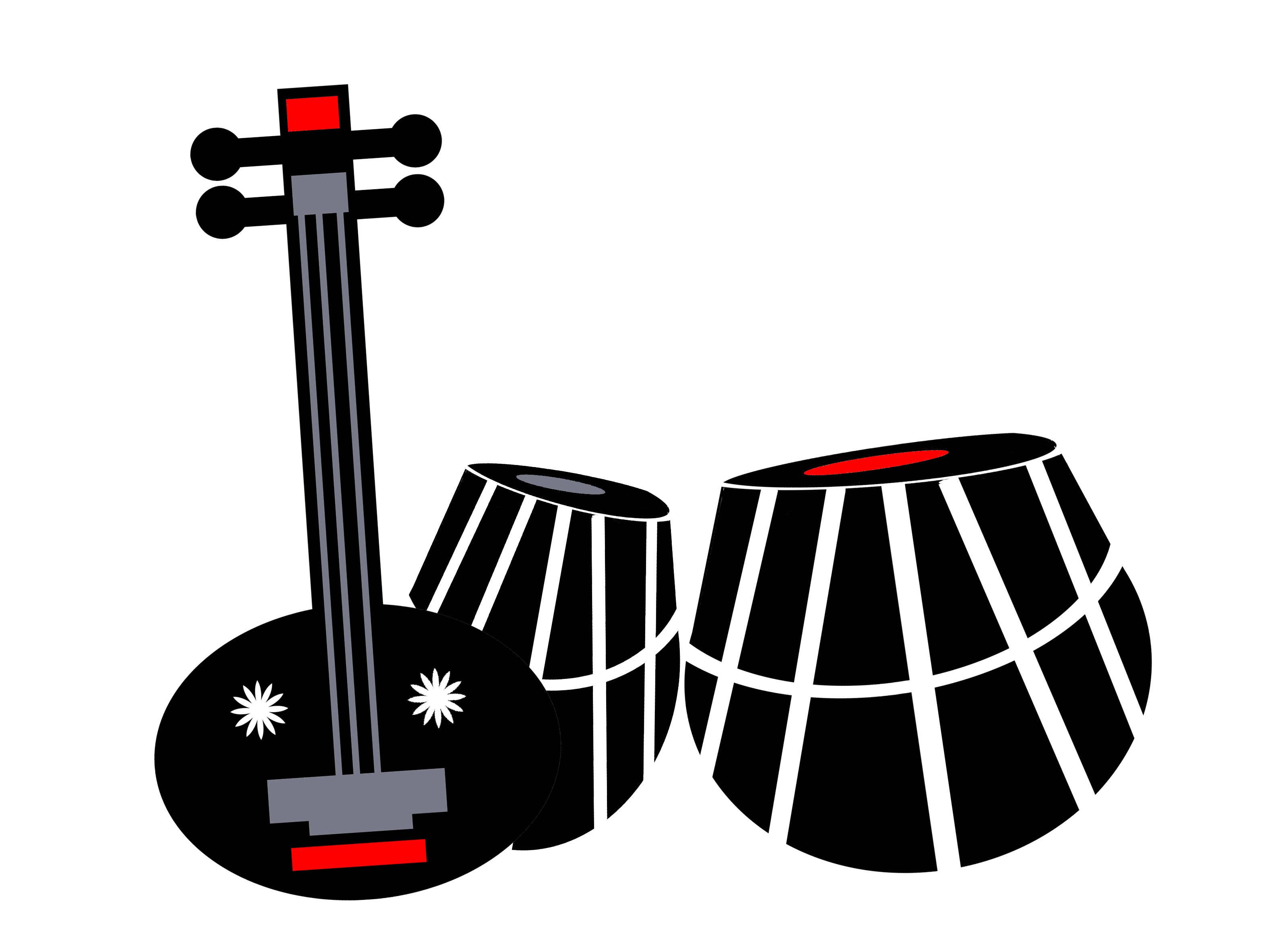 Abstract musical instrument clipart ideas graphic freeuse download musical instruments | vector art | Vector art, Abstract art, Art graphic freeuse download