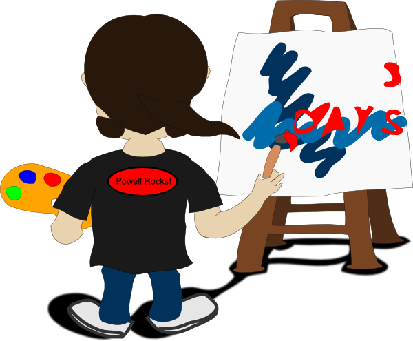 Free Picture Of An Artist Painting, Download Free Clip Art, Free ... vector freeuse library