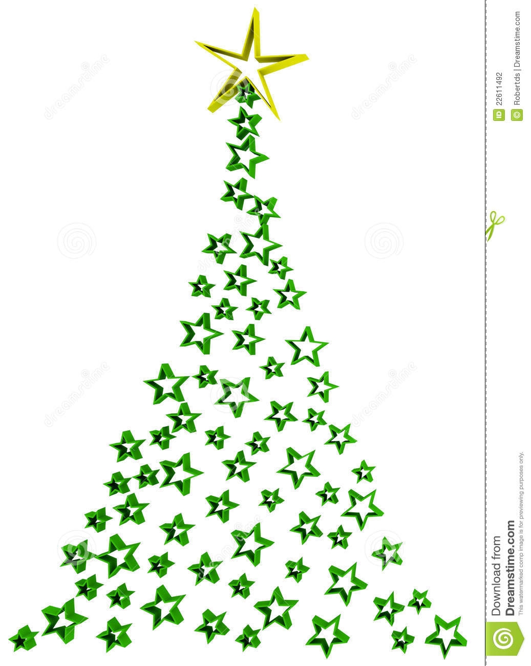 Abstract christmas tree clipart 4 » Clipart Station image black and white stock