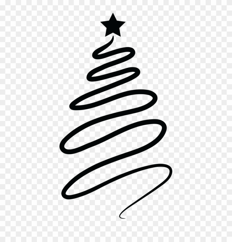 Abstract pine tree clipart image free stock Swirly Christmas Tree Picture Inspirations Abstract - Swirl ... image free stock