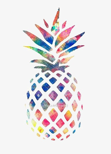 Abstract pineapple clipart svg free stock Pineapple, Pineapple Clipart, Creative Pineapple, Color Pineapple ... svg free stock