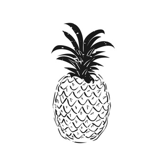 Abstract pineapple clipart vector royalty free download Pineapple Vectors, Photos and PSD files | Free Download vector royalty free download