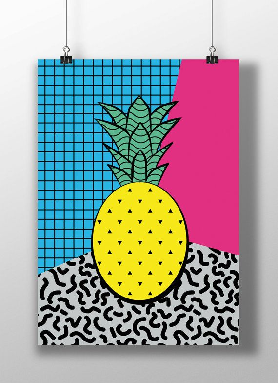 Abstract pineapple clipart