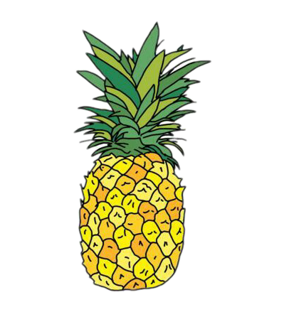 Abstract pineapple clipart graphic royalty free stock Tumblr Pineapple | Free download best Tumblr Pineapple on ClipArtMag.com graphic royalty free stock