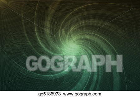 Stock Illustration - Alien abstract portal background. Clipart ... clipart stock