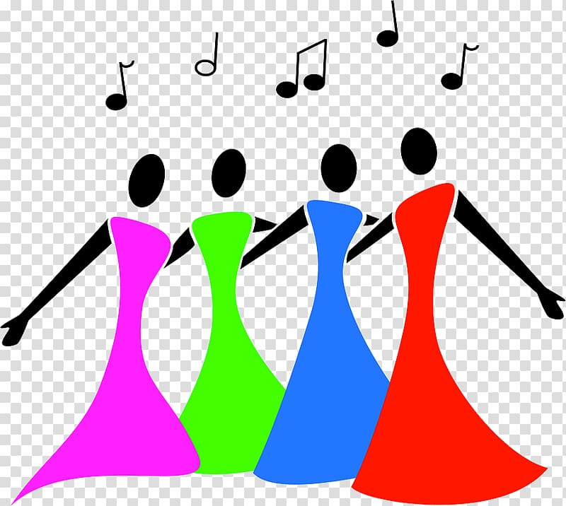 Group singing clipart clip art download Singing Choir Female , Sing Group transparent background PNG clipart ... clip art download