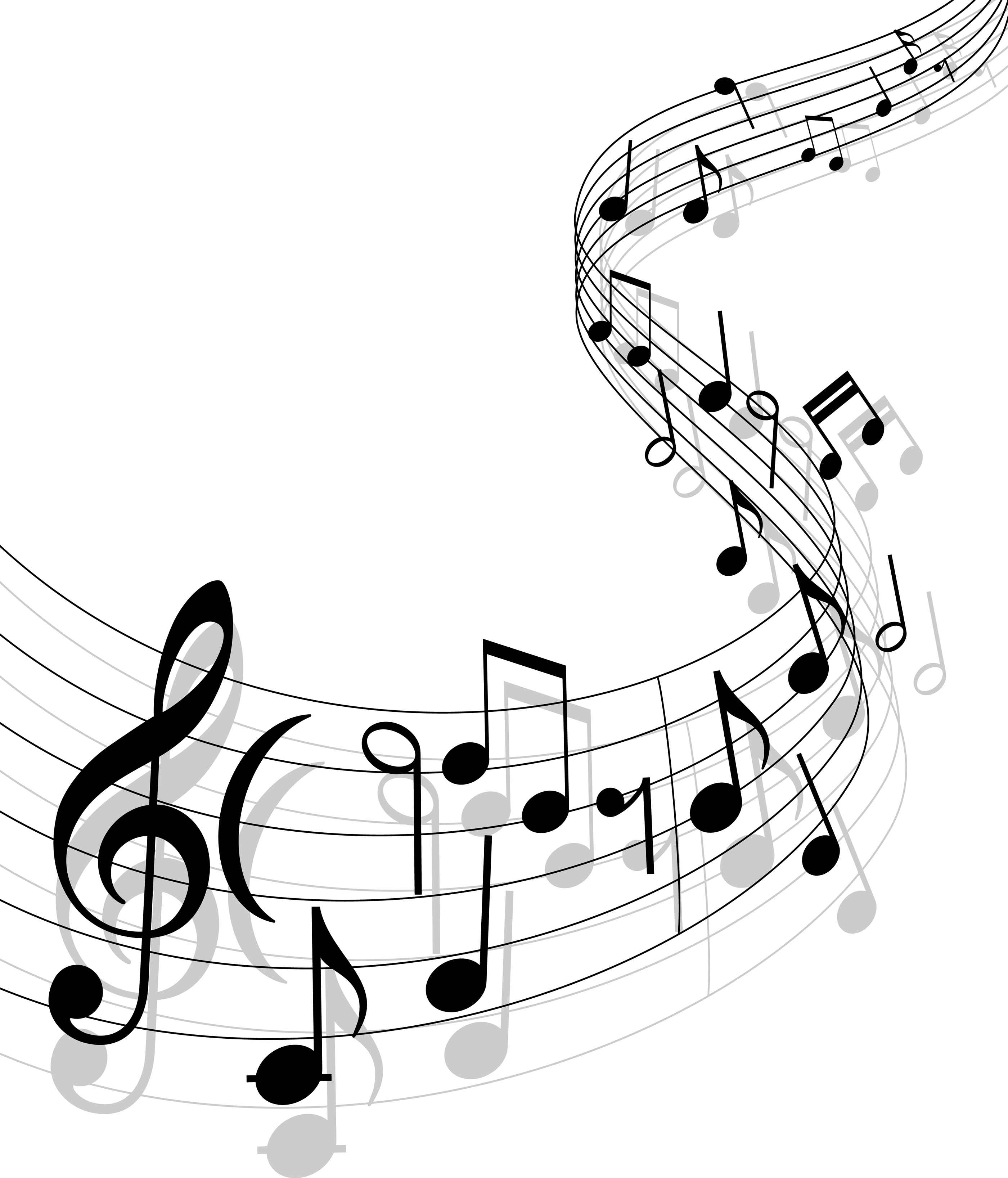 Free simple music black and white clipart picture royalty free library Music note musical notes music musical note clipart free vector for ... picture royalty free library