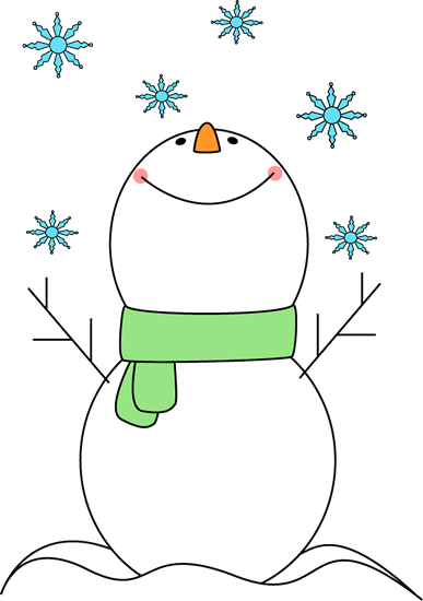 Abstract snowman clipart clipart cute snowflake clipart | Snowman Catching Snowflakes Clip Art ... clipart