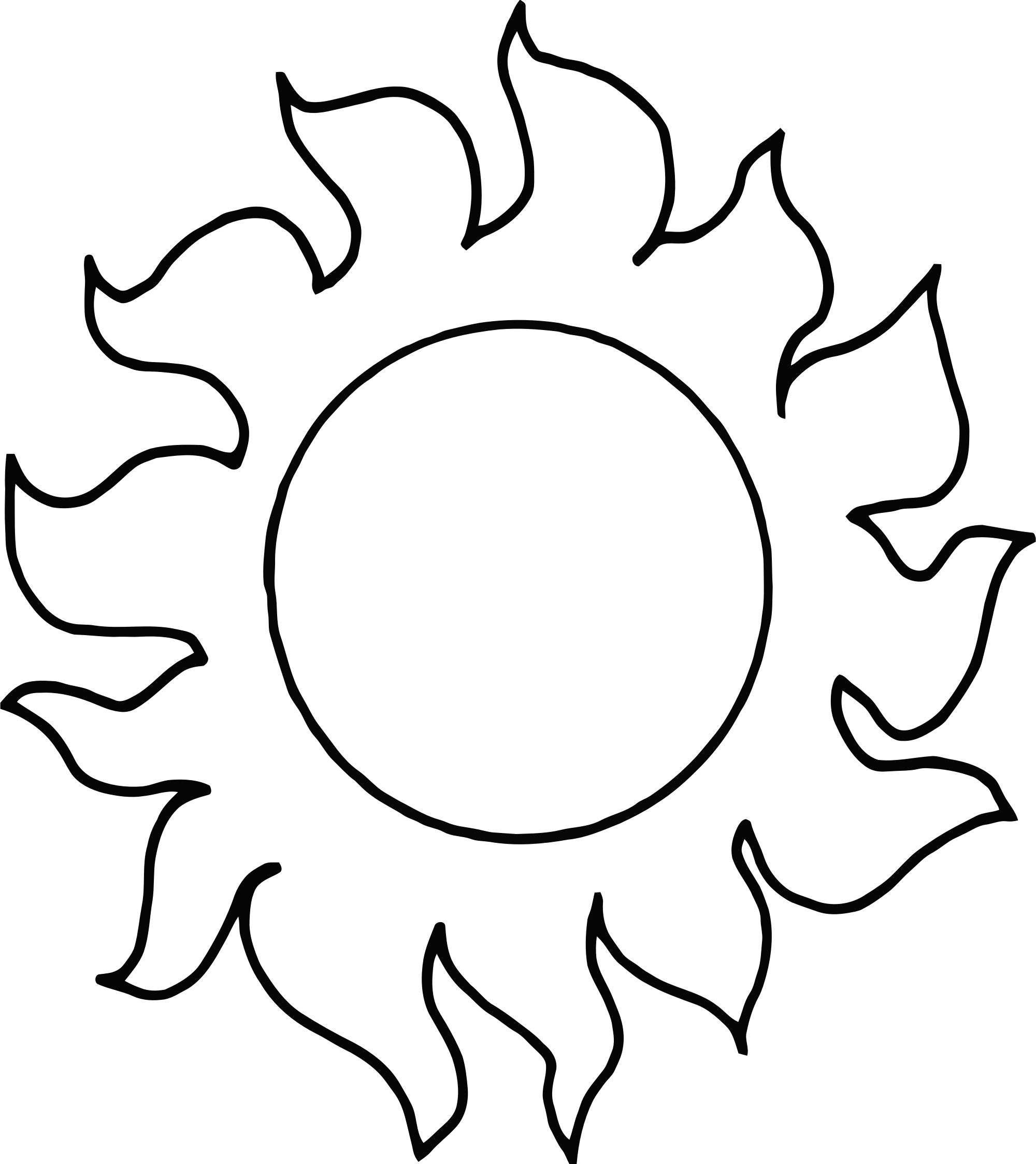 Library Of Big Sun Image Royalty Free Download Png Png Files