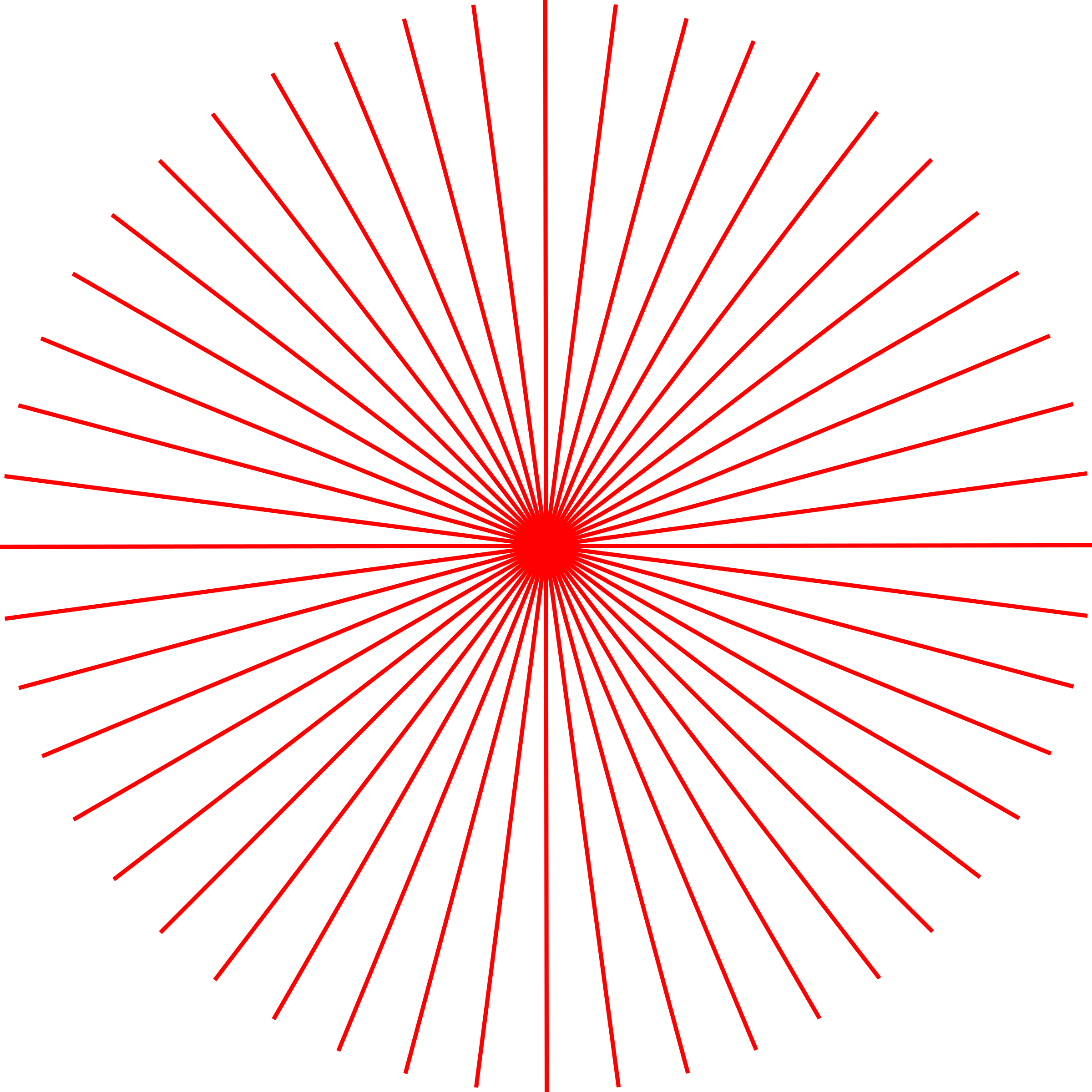 Sun rays clipart png picture library library Clipart - abstract sun 1 (48 rays) picture library library