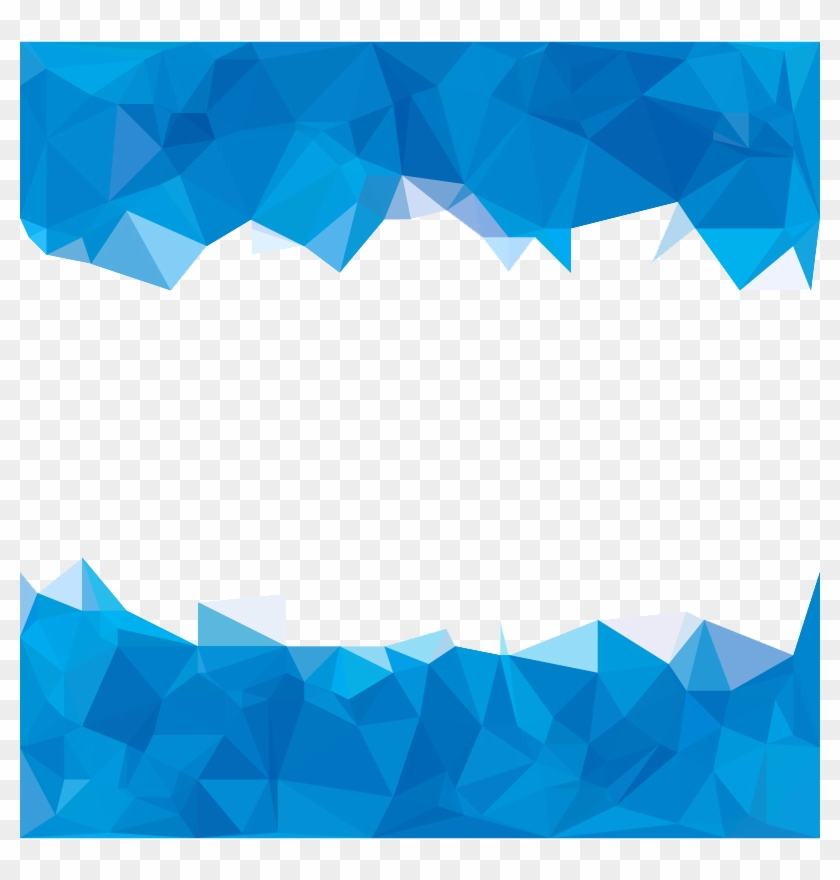 Blue Abstraction Polygon Abstract Sky Polygons Clipart - Background ... svg royalty free stock