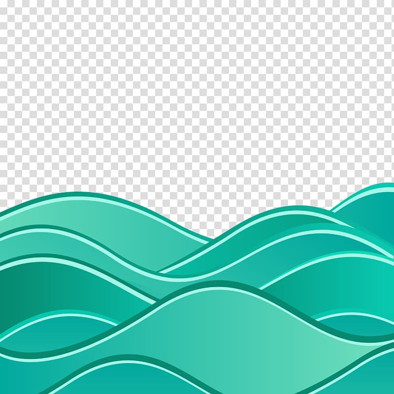 Blue water logo, Wind wave Euclidean Wave Sea, Background with ... vector transparent library