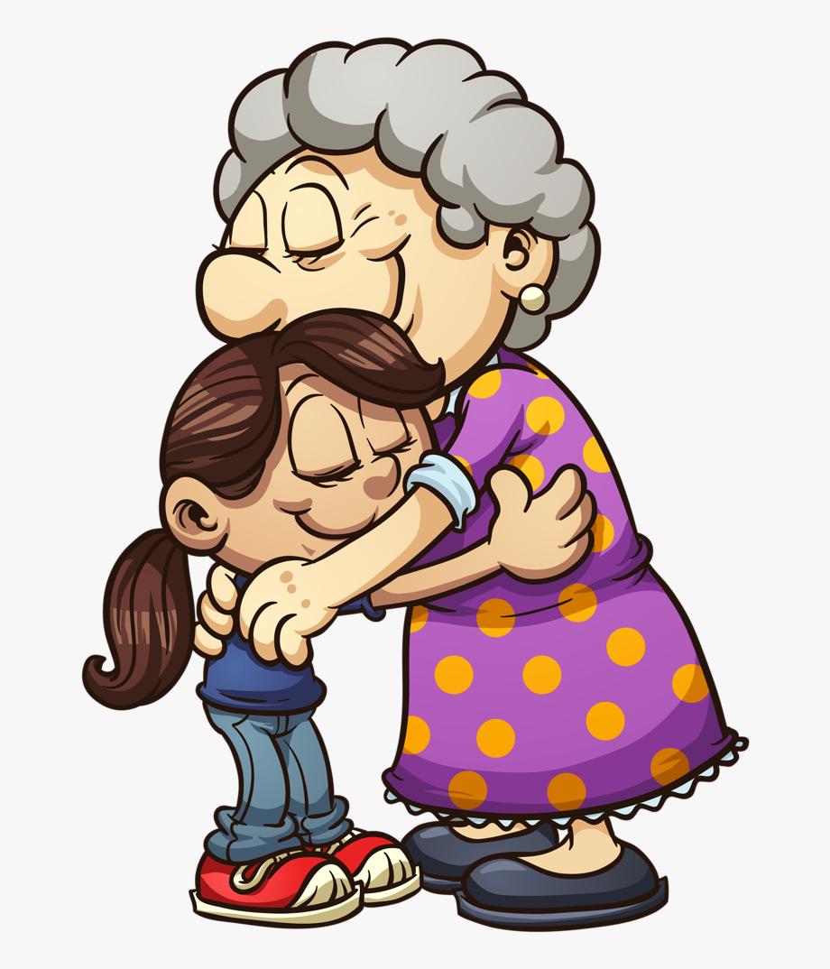 Vovô & Vovó - Nieta Y Abuela Dibujo, Cliparts & Cartoons - Jing.fm freeuse library