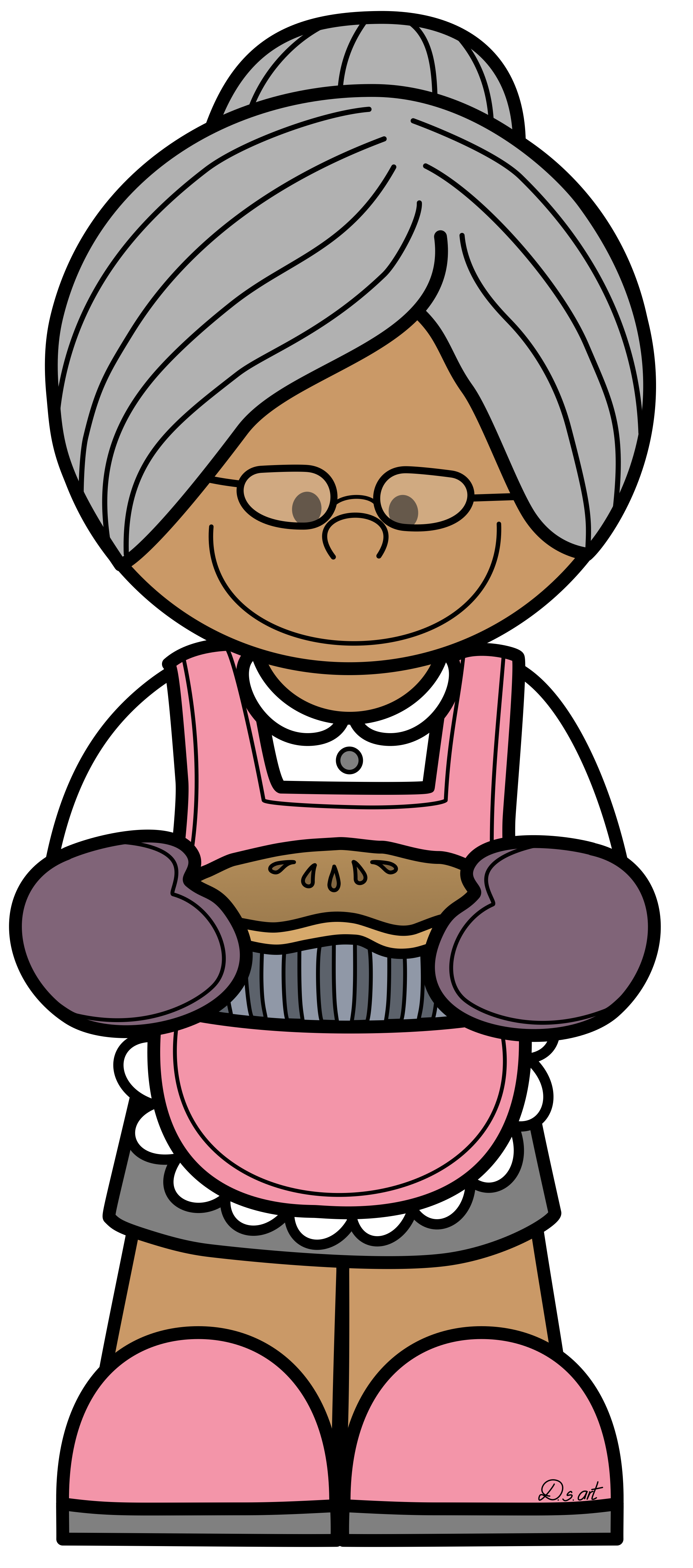 Abuela clipart clipart images gallery for free download | MyReal ... clipart stock