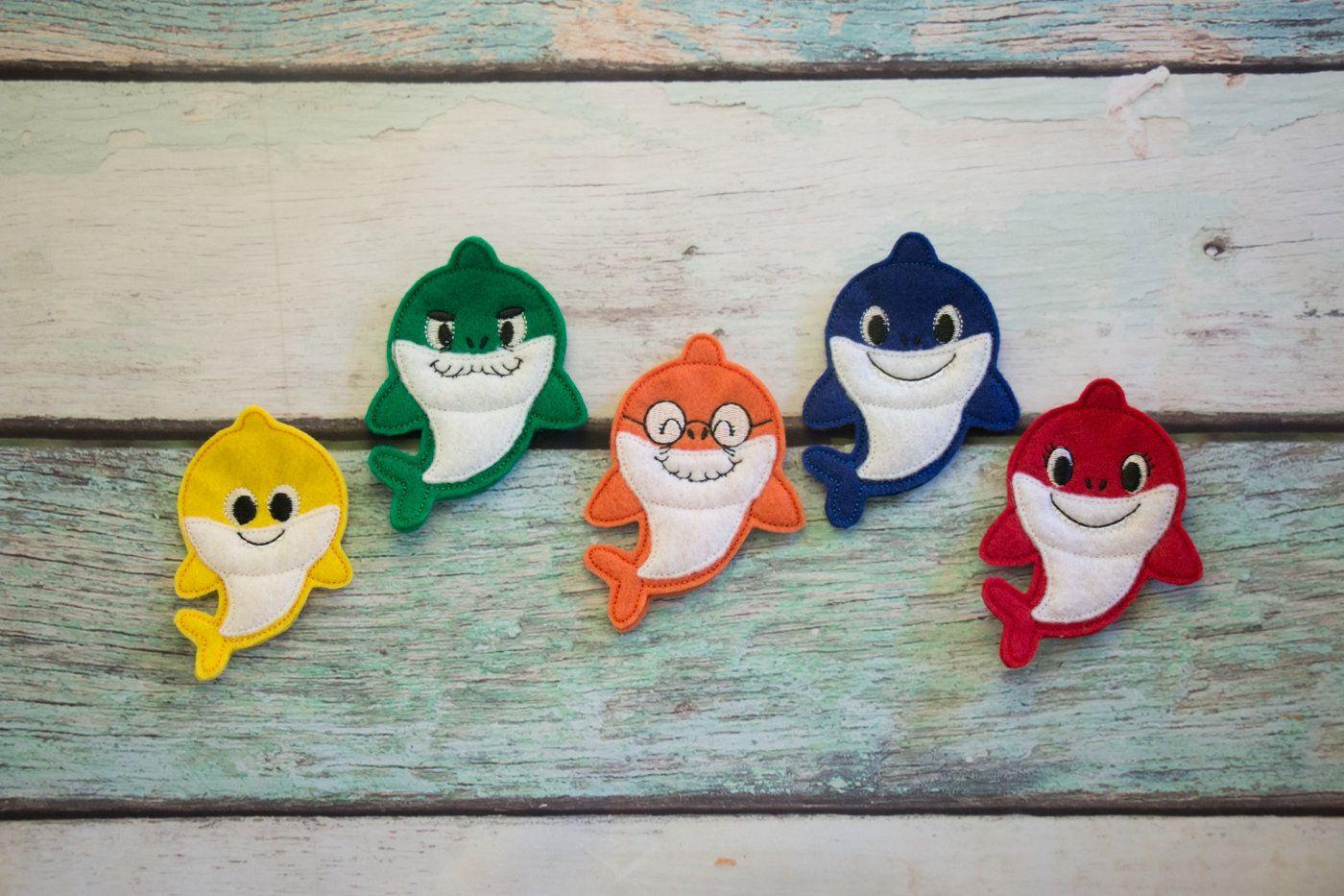 Abuelo shark clipart banner stock Baby Shark Finger Puppet, Pretend Play, Imagination, Easter Basket ... banner stock