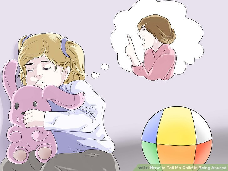 Abusive dad clipart clip stock 5 Ways to Tell if a Child Is Being Abused - wikiHow clip stock