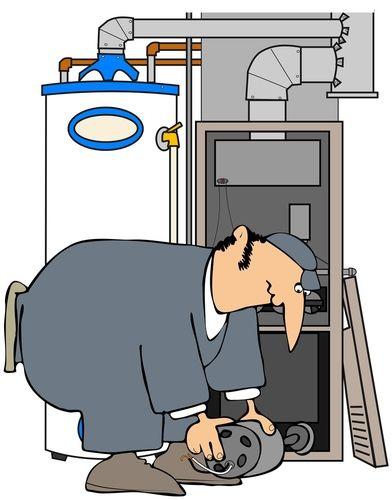 Ac gaugagees clipart image black and white Furnace Repair Cartoon Before you call a AC repair man visit my blog ... image black and white