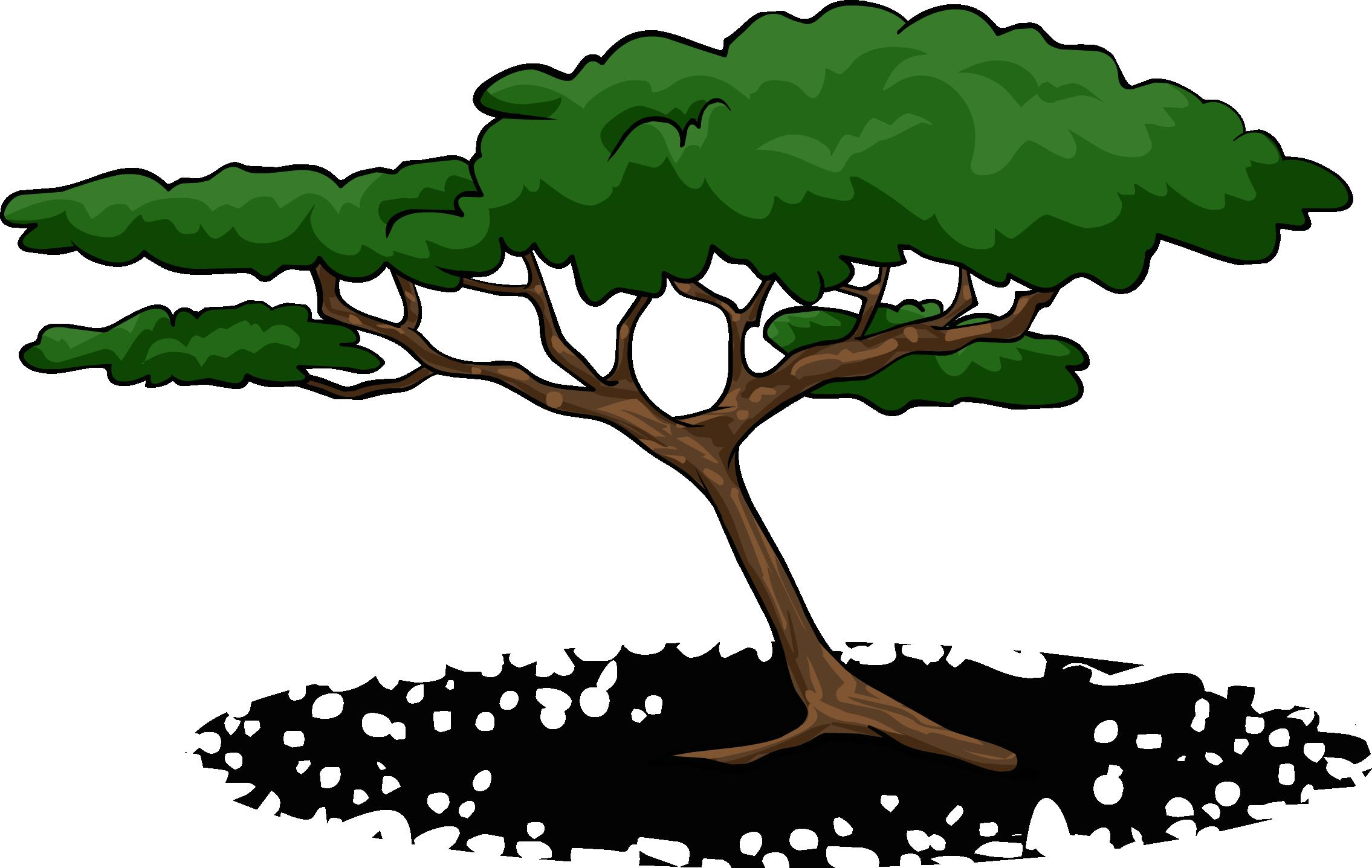 Savanna tree clipart svg transparent library Image - Acacia Tree sprite 002.png | Club Penguin Wiki | FANDOM ... svg transparent library