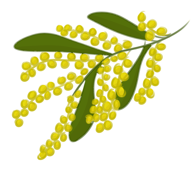 Yellow tree clipart