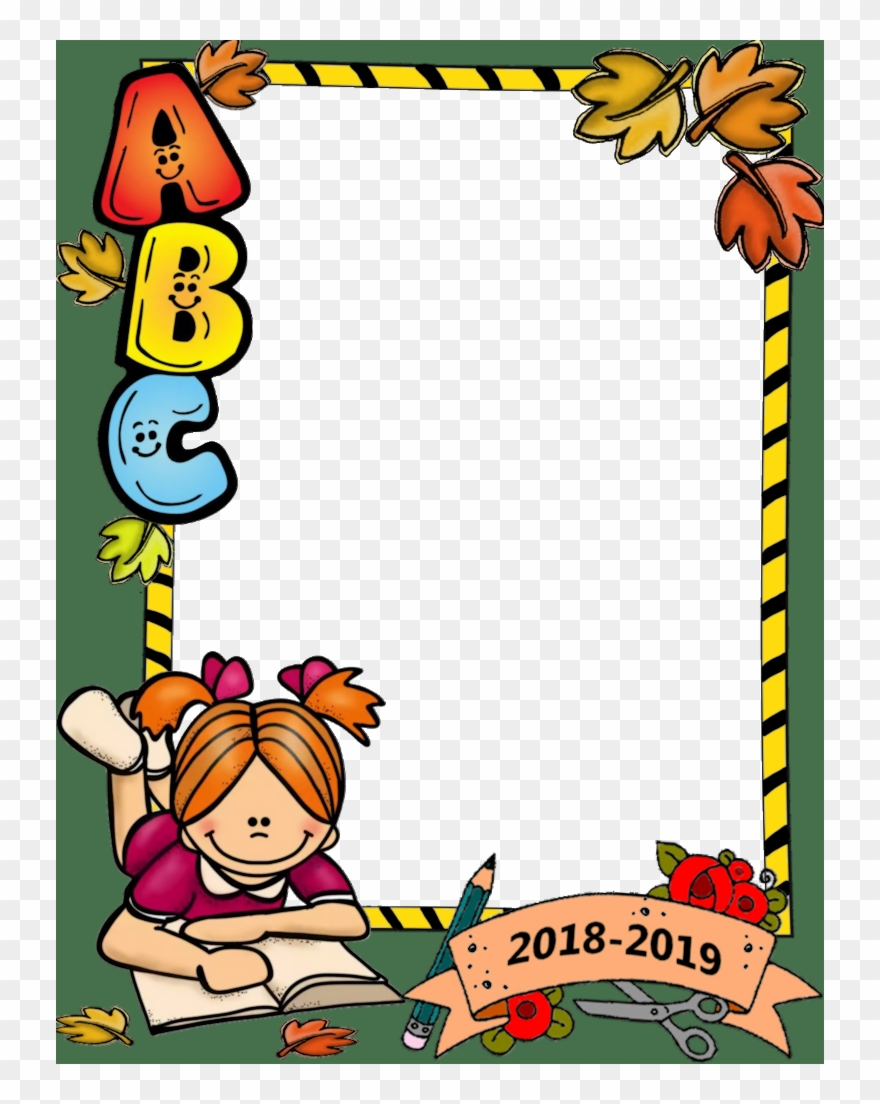 School themed border clipart vector library download School Border, Back To School Images, Beginning Of - School Clipart ... vector library download