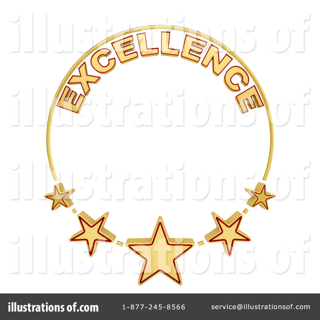 Excellence Clipart #1229109 - Illustration by stockillustrations clip art