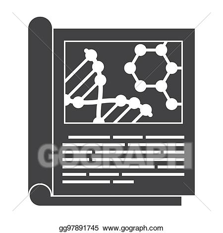 Vector Illustration - Scientific journal icon. EPS Clipart ... vector library