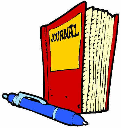 Academic journal clipart