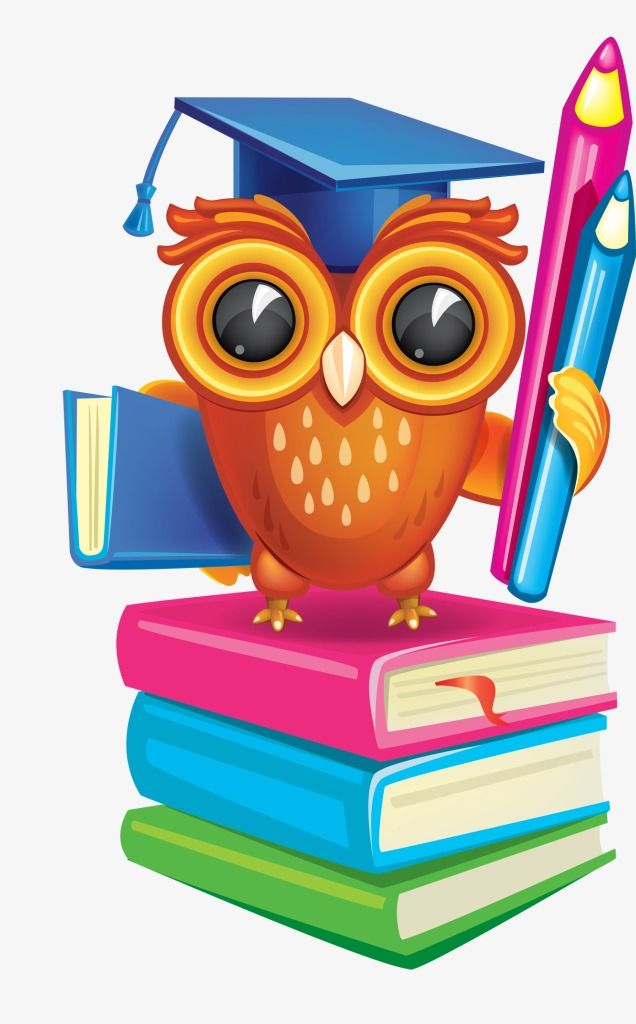 Academic success clipart banner black and white Academic Success Owl, Owl Clipart, Owl, Book PNG Transparent Image ... banner black and white