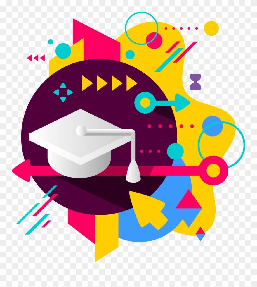Academic success clipart svg library stock Online Academic Success - Fundo Com Ponto De Interrogação Clipart ... svg library stock
