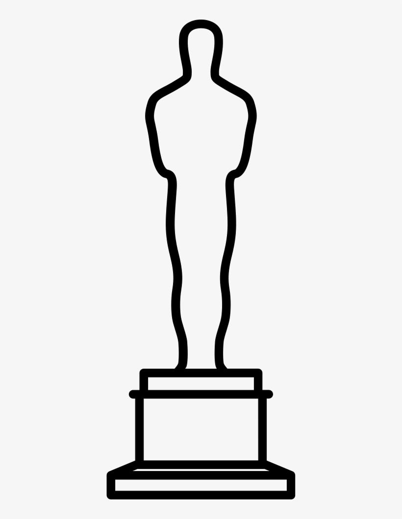Academy award oscar clipart banner library library Oscar Academy Award Comments - Oscar Award Clipart Transparent PNG ... banner library library
