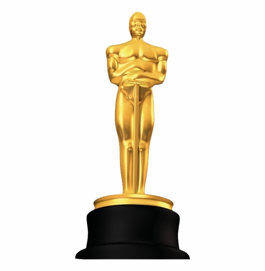 Academy award oscar statue clipart