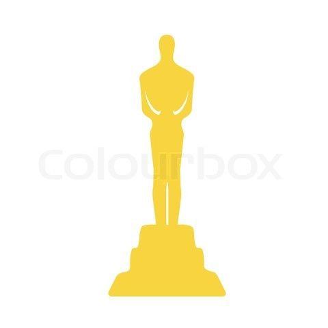 Clipart oscar graphic library stock oscar trophy clipart | Oscar Award Trophy Clipart Classic movie ... graphic library stock