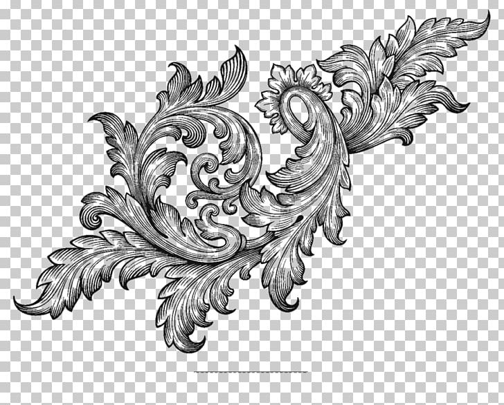 Acanthus clipart png freeuse library Ornament Baroque Scroll Acanthus PNG, Clipart, Acanthus, Art ... png freeuse library