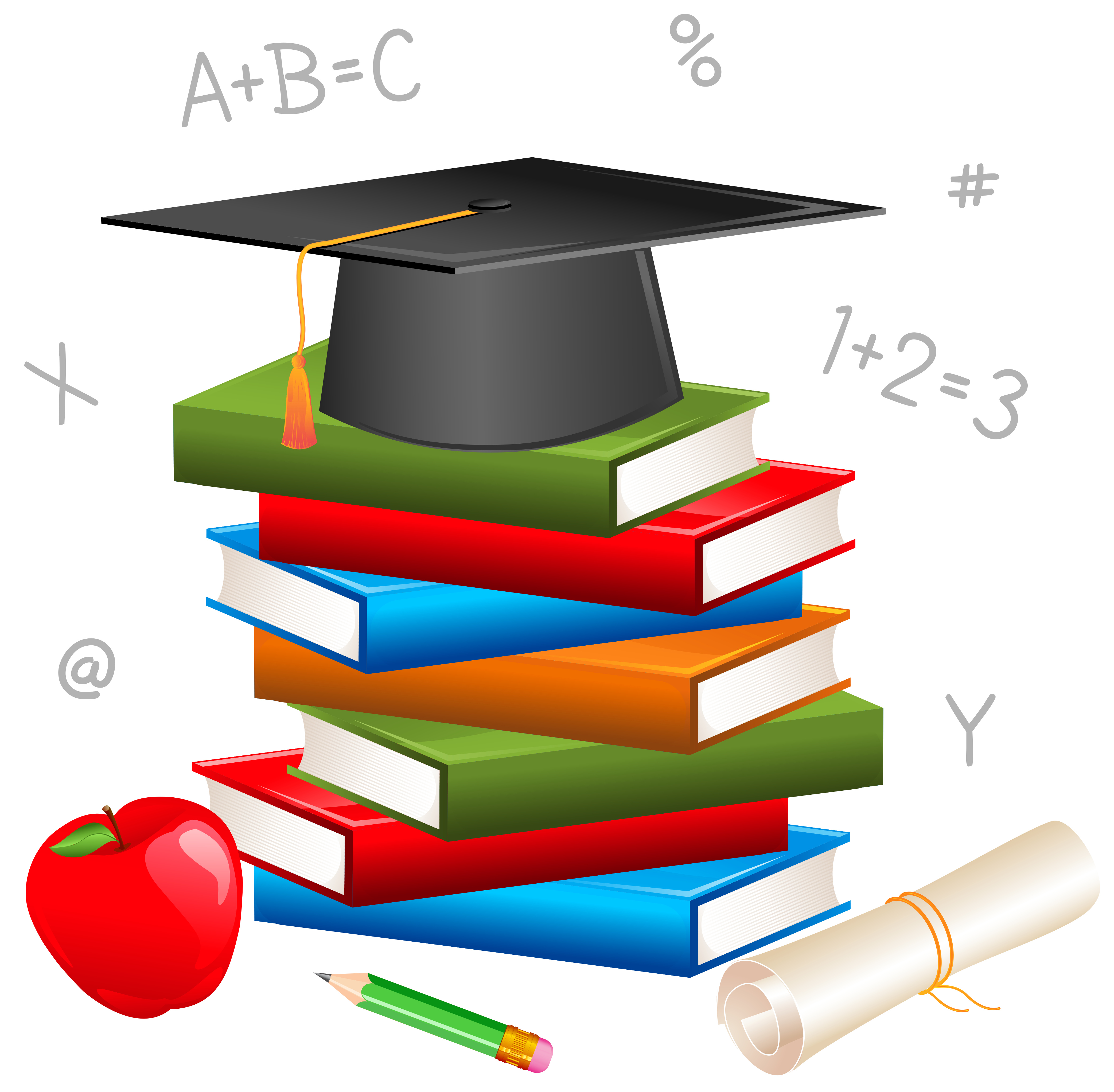 School Decor PNG Picture | Gallery Yopriceville - High-Quality ... jpg freeuse stock