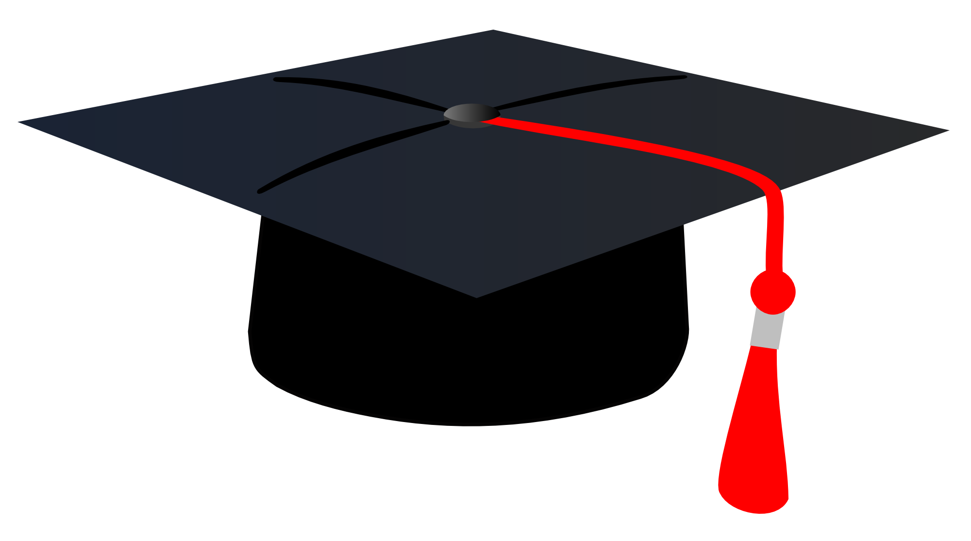 Graduation caps pictures clipart picture free stock Graduation Cap Clipart PNG Image - PurePNG | Free transparent CC0 ... picture free stock