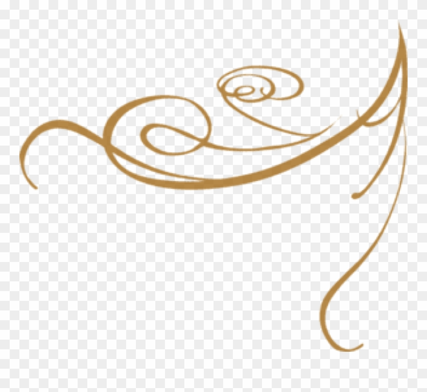 Laxmi haar clipart banner free stock Free Png Gold Fancy Line Designs Png Image With Transparent - Gold ... banner free stock