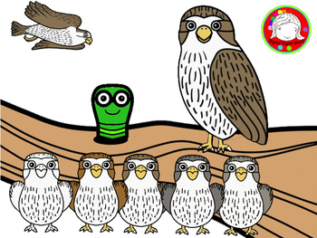 Accesories clipart banner stock Cute Falcon with Seasonal Accessories Clipart (Personal & Commercial Use) banner stock