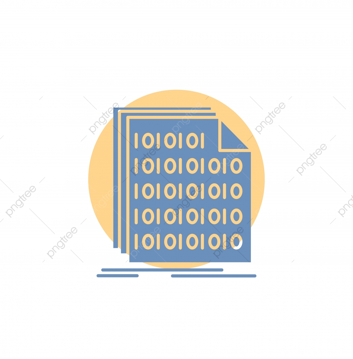 Binary Code Coding Data Document Glyph Icon, Access, Archive, Binary ... banner royalty free library