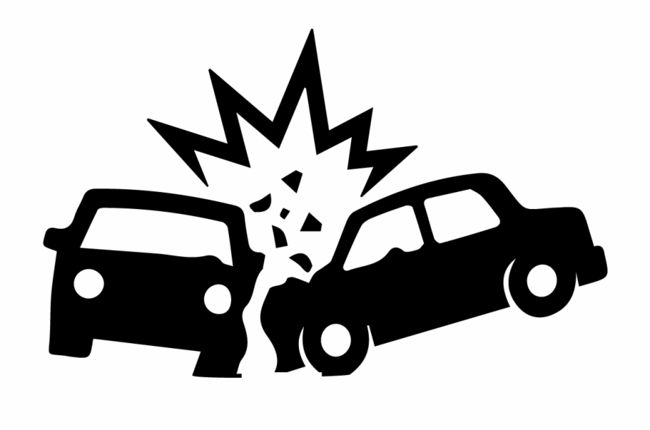 Car Logo Clipart Black And White - Black And White Car Accident ... vector library download