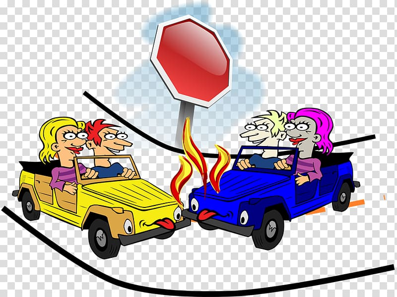 Traffic collision Accident Cartoon , intersection,Traffic accident ... clip art library stock