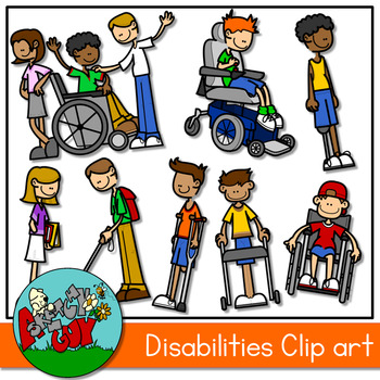 Accommodations for disabilitre clipart freeuse download Disability Clip Art & Worksheets | Teachers Pay Teachers freeuse download