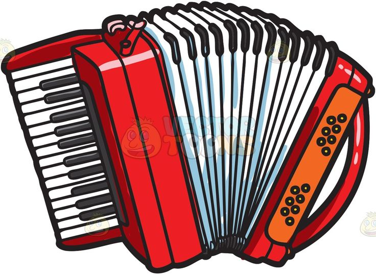 Accordion pictures clipart picture free download A red accordion with black and white keys » Clipart Station picture free download