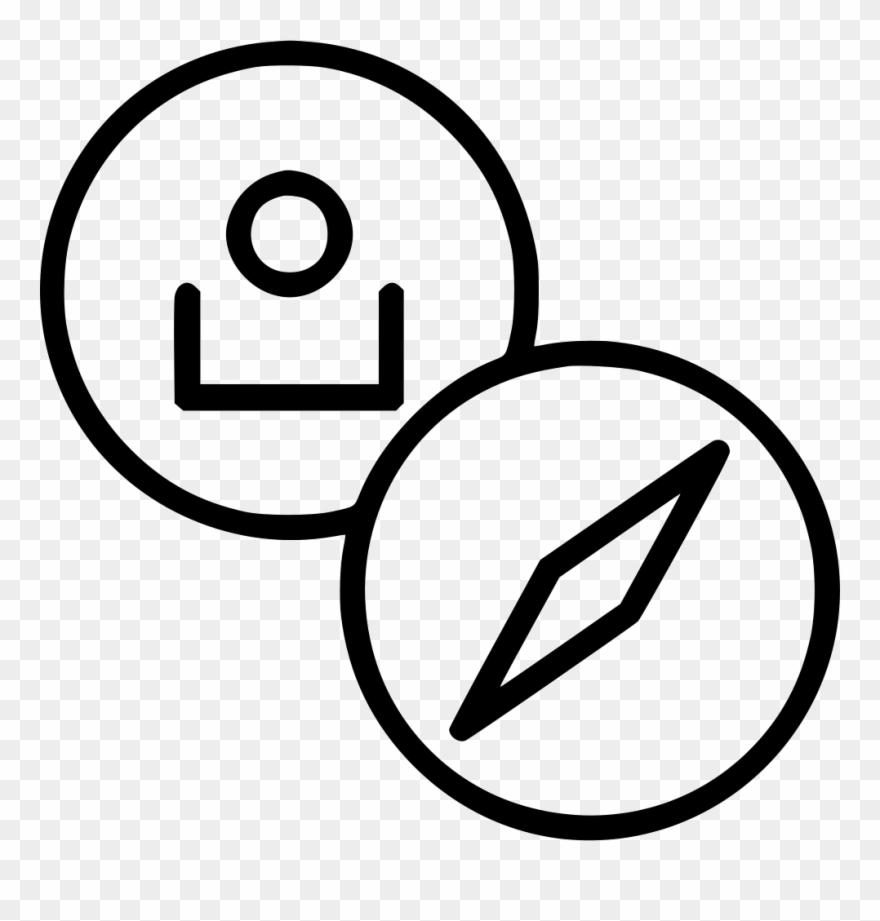 Account profile clipart jpg Customer Account Profile Navigation Compass Direction Clipart ... jpg